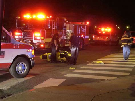 2 Injured In Motorcycle Car Crash Connecticut Post
