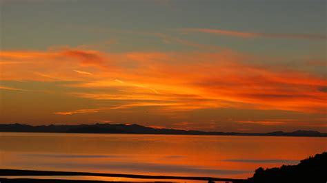 colors of a sunset antelope island sunset peringcers