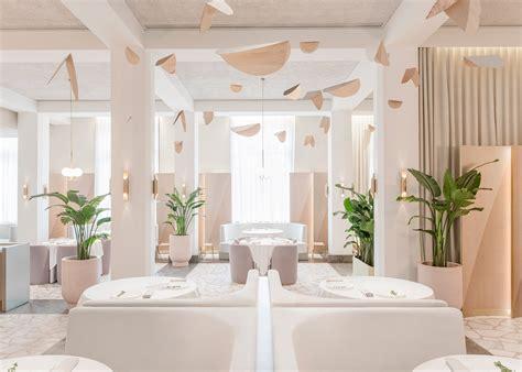 design restaurant  singapore  powder pink