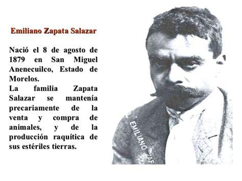 imagenes de la vida de emiliano zapata revolucion mexicana