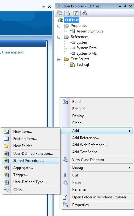 sql server introduction to clr simple exle of clr