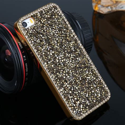 Iphone 7 Plus Luxury Bumper Armor Mewah Diamon Mirror Casing Sarung luxury bling glitter rhinestone back pc bumper cover for iphone 7 6s 8 plus ebay