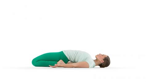 reclining hero reclined hero pose yoga international