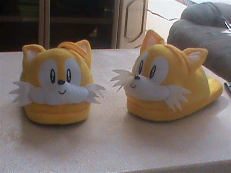slipper tails my new tails slippers by supersonicgirl79135 on deviantart