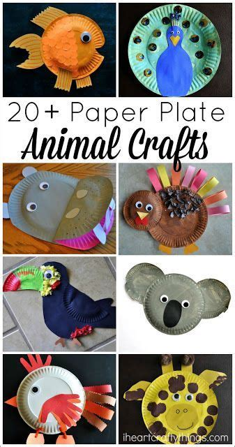 Things To Make With Paper Plates - crafts paper plate animals and animal crafts on