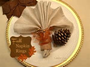 Fall Curb Appeal - hometalk diy fall napkin rings