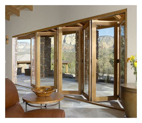 Accordian Patio Doors by Vista Pointe Bi Fold Multi Slide Patio Door Hurd Windows