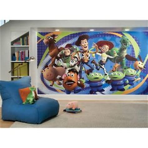 toy story home decor new xl toy story wallpaper mural buzz lightyear woody kids