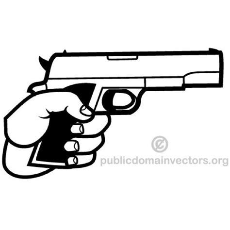 clipart religiose handgun vector clip at vectorportal