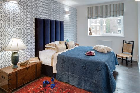 inspired trellis rug in bedroom contemporary with fabric