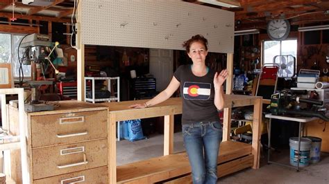 build a shop build a simple 2x4 workbench