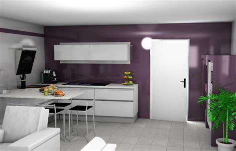 cuisine grise et aubergine davaus cuisine blanche grise et aubergine avec des