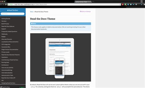 html themes sphinx html modifying content width of the sphinx theme read