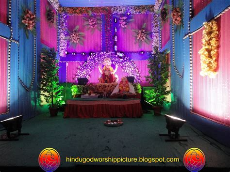 home decoration photos of ganesh festival studio