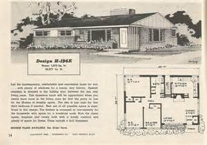 1950s ranch house floor plans image gallery 1950s homes