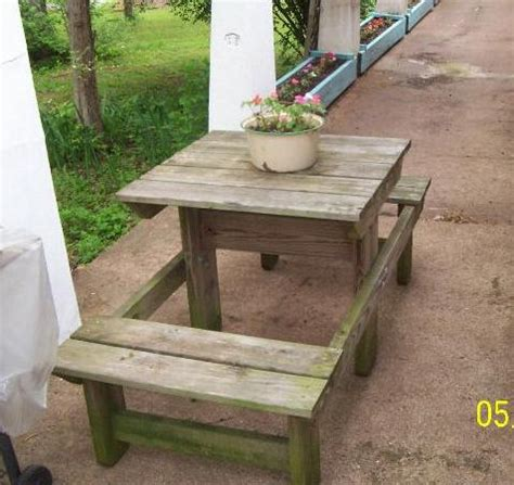 half picnic table bench our products