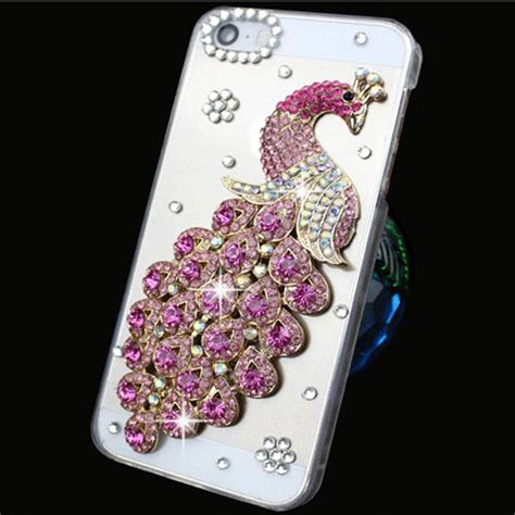 Harcase Bling Bling bling for iphone 5 5s 6 plus back clear rhinestone 3d cover