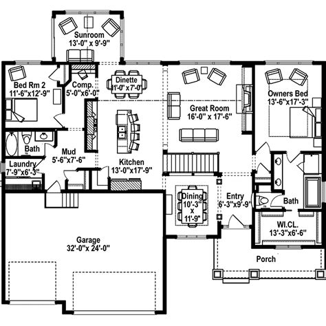 home plans and more green orchard ranch home plan 072d 1108 house plans and more