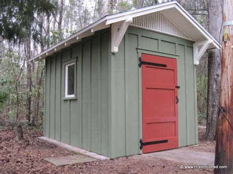 gable shed  board  batten exterior shed