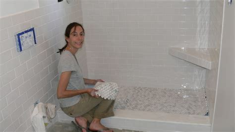 How Do You Lay Tile In A Bathroom by Tile Tile Shower Floor Houses Flooring Picture Ideas