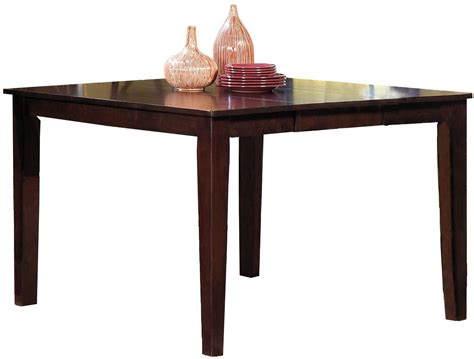 winston espresso winston counter height dining table p810