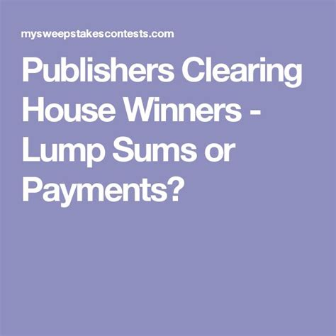 Publishers Clearing House Payment Mailing Address - publishers clearing house payment house plan 2017