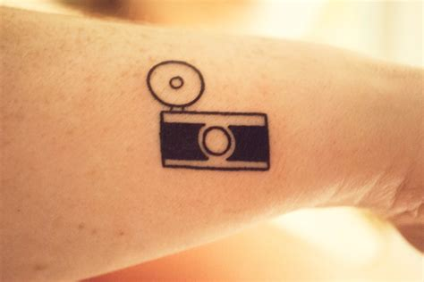 my new camera tattoo because i love it pinterest
