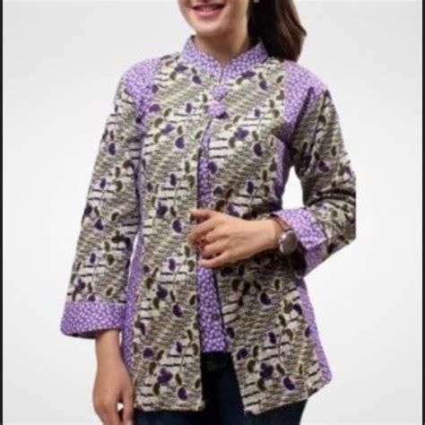 Batik Sunan Dress Tangan Panjang 4 model baju batik wanita gemuk sedang yang cocok untuk