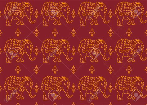 pattern elephant background indian elephant wallpaper pattern