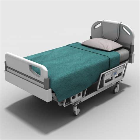 3d bed 3d hospital bed model