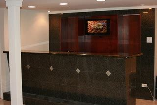 Larmon Furniture by Larmon Basement Bar Modern Basement Chicago By Spartan Construction Design Inc