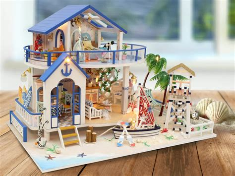 assembled doll houses for sale assembled custom handmade miniature wooden dollhouse for sale buy custom dollhouse