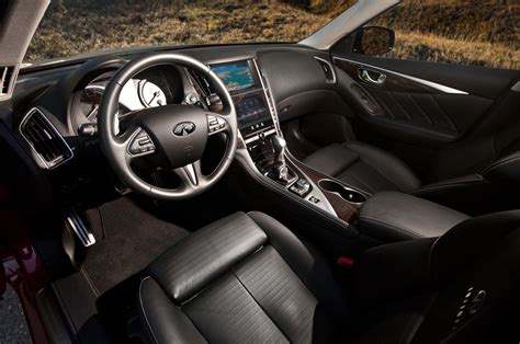 infiniti q50 interior 2014 infiniti q50s first test photo gallery motor trend