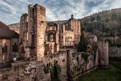 Famous Floor Plans by Heidelberg Castle Synapsee