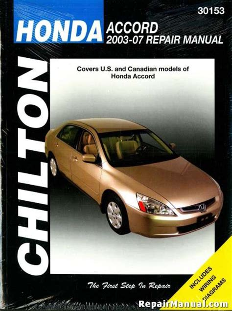 car repair manuals online pdf 2007 honda accord instrument cluster 2003 honda accord owners manual online