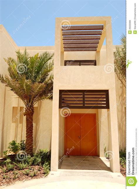 Tuscany Style House the arabic style modern villa at luxury hotel royalty free