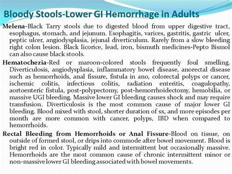 What Causes Stools Right After by Sigid Djuniawan Spb Finacs Ppt