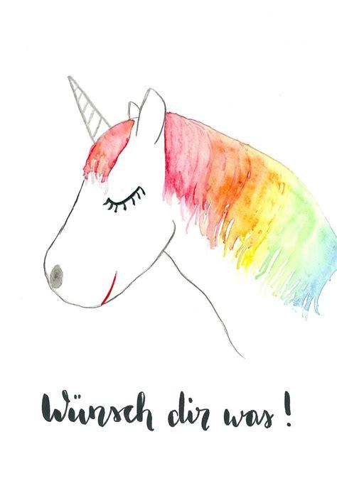 Bilder Malen Ideen by Die Besten 25 Einhorn Malen Ideen Auf Unicorn