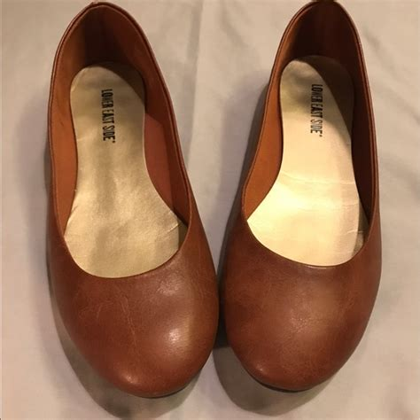lower east side flats shoes 48 lower east side shoes brown leather flats by
