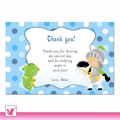 thank you note for office baby shower personalized any wording polka dots thank you