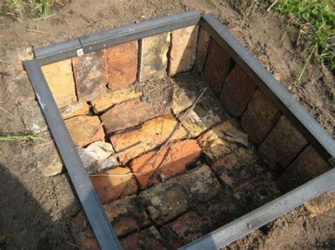 In Ground Brick Pit 17 best images about pits on pits easy pit and gas fireplaces