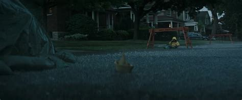 ss georgie paper boat the first trailer for stephen king s it is the stuff of