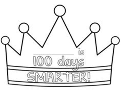 100th day crown template 1000 images about 100th day on 100th day