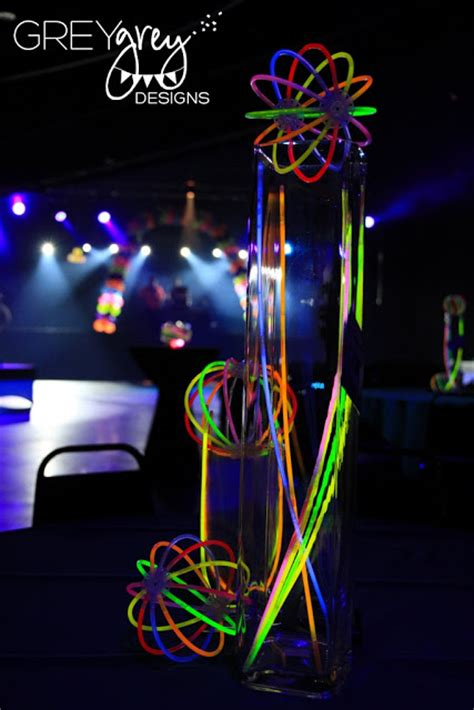 glow stick centerpieces 15 glow in the ideas b lovely events