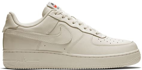Nike Air 1 Low Leather All White nike air 1 low swoosh pack sail all 2018