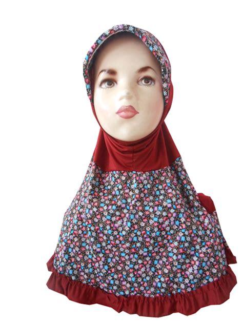 Terbaik Daster Anak Katun Rempel jual jilbab anak rempel harga murah sidoarjo oleh toko jilbab siana