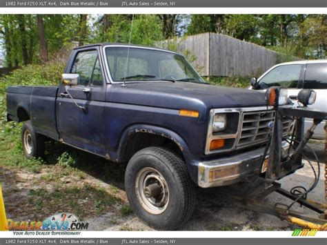 1982 ford f250 1982 ford f250 xlt 4x4 blue metallic blue photo 5