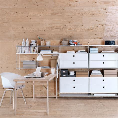 string shelving string shelving system by nils strinning apartment