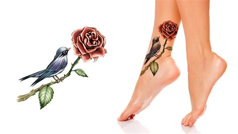 foot rose tattoo designs 50 glorious foot and ankle ideas that are truly