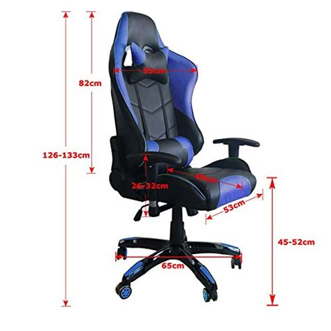 chaise bureau gamer mctech chaise de bureau gamer fauteuil si 232 ge racing gaming